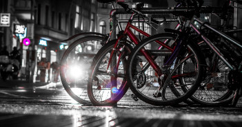 Red Bike by Dennis Skley