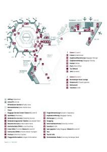 Plan de l'aéroport de Tegel