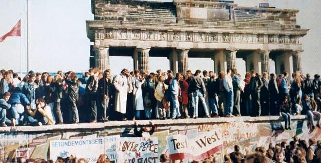 La chute du mur de Berlin, 1989